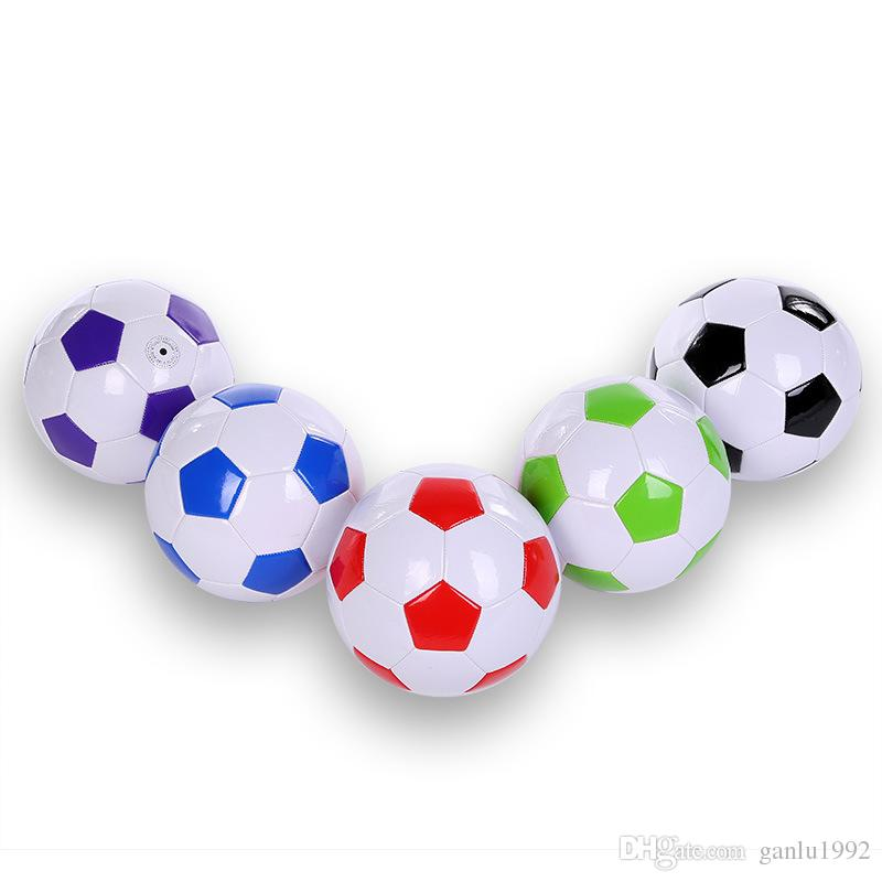 PVC Football Sports Goods Foot Ball Wear Resisting Student Gifts Multi Color Hot Sale 16 5jx C R