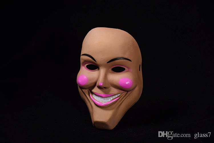 2018 new full face clown masks for women lady girl Masquerade Christmas ball Halloween Costume Party cover
