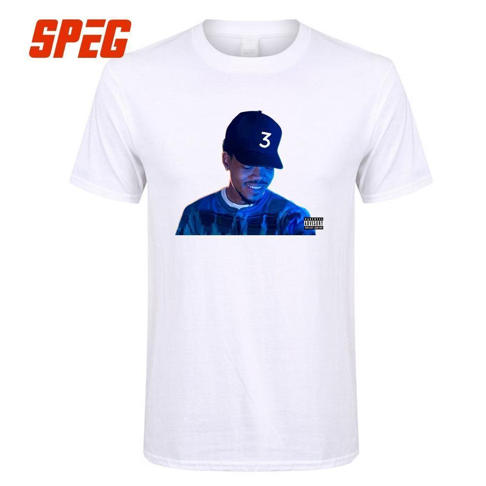 T Shirt Chance The Rapper 3 Tops Brandon Breaux Men S Crew Neck