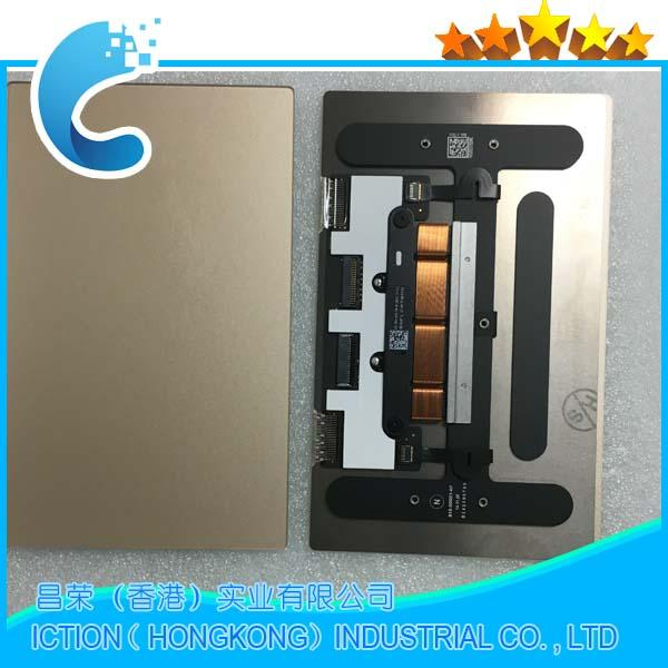 Original Laptop A1534 Trackpad Touchpad For Macbook Retina 12'' A1534 Trackpad Touchpad 2015 Gold Color