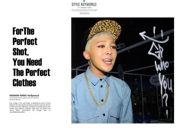 Heiß! Hip Hop GD G-DRAGON Art und Weise 24K Goldfarbe Halskette Sehr hign Qualität und freies Verschiffen