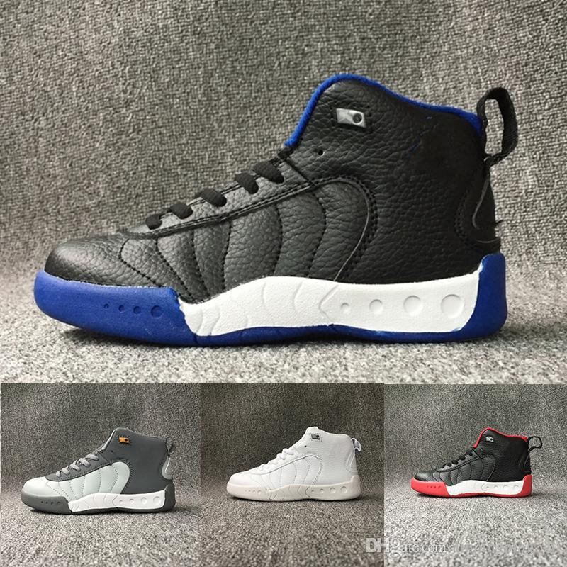 Compre Nike Air Jordan 12 Retro Zapatos Para Niños Zapatos De Baloncesto  J12s Para Niños Zapatos Deportivos De Alta Calidad Zapatillas Para Niños  Para La ... 1cc85fa0ab8