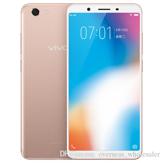 Original VIVO Y71 4GB RAM 64GB ROM 4G LTE Mobile Phone Snapdragon 425 Quad  Core Android 5 99 Full Screen 13 0MP AI Face ID Smart Cell Phone