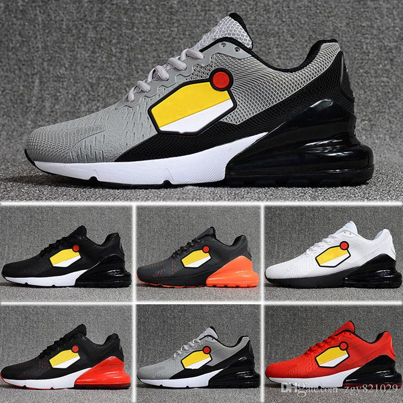 beb1e86946f2 New 2018 Original 270 Shoes Outdoor Casual Run Sneakers Black White ...