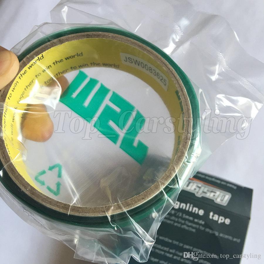 2 rolls / Knifelesstape 디자인 라인 커팅 테이프 자동차 비닐 커팅 도구 차량 그래픽 용