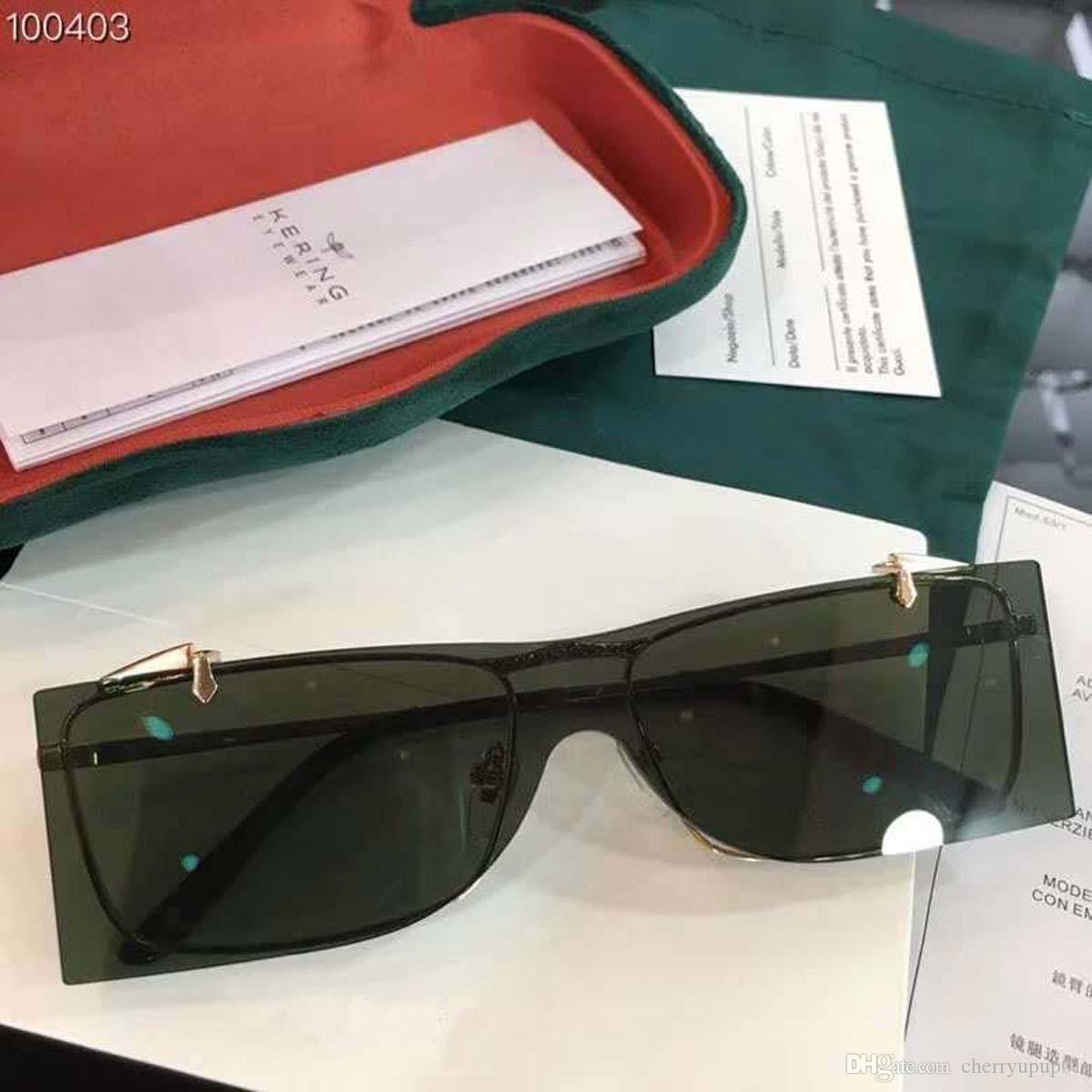 3adf703fef0d Brand Designer Sunglasses High Quality Oversiezed Sunglasses GG0363 Men  Glasses Women Sun Glasses Lens Unisex With Original Cases And Box Sunglasses  At ...
