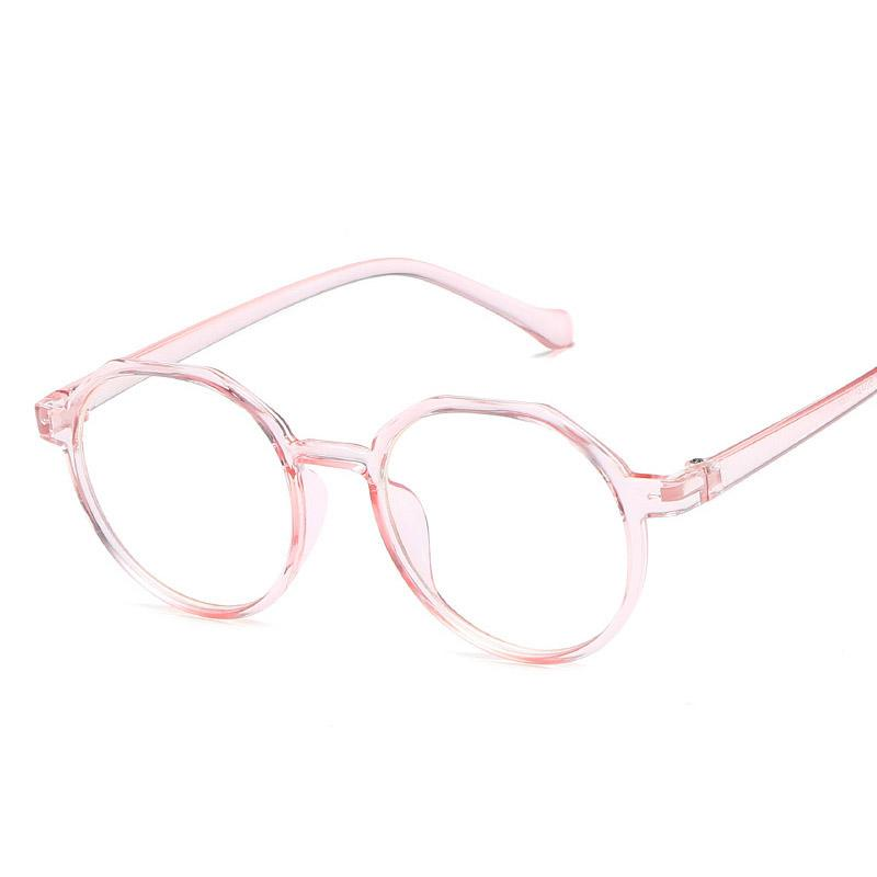 2d024ffcec Clear Glasses Women Round Spectacle Frames Vintage Transparent ...