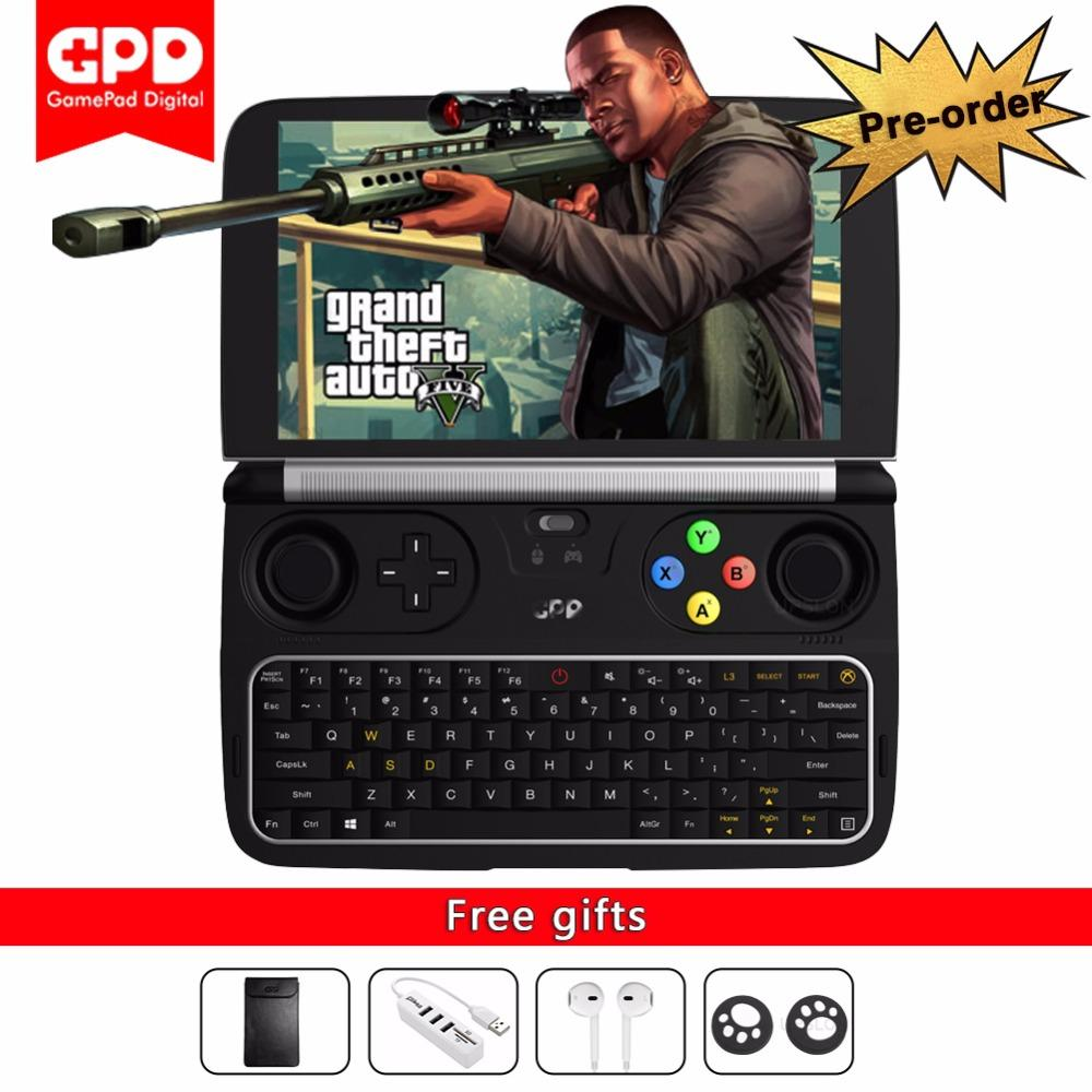 Cheap New Gpd Win 2 Handheld Mini Game Console Gameplayer Laptop Ps4 Sonic Forces Day One Edition R1 Eng Notebook 6 Cpu M3 7y30 Windows 10 Bluetooth 41 8gb 128gb Win2 Laptops