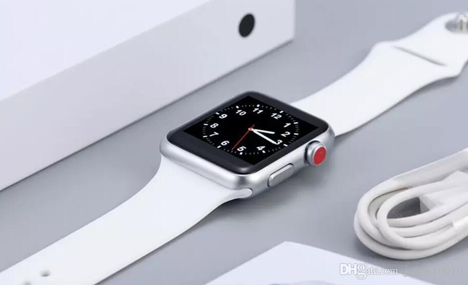0d2725ad6cb Compre Relógio Goophone Iwo 3 Geração Esporte Telefone Inteligente Relógio  Bluetooth À Prova D  água Designer Internacional Lenço Sem Fio Fones De  Ouvido De ...
