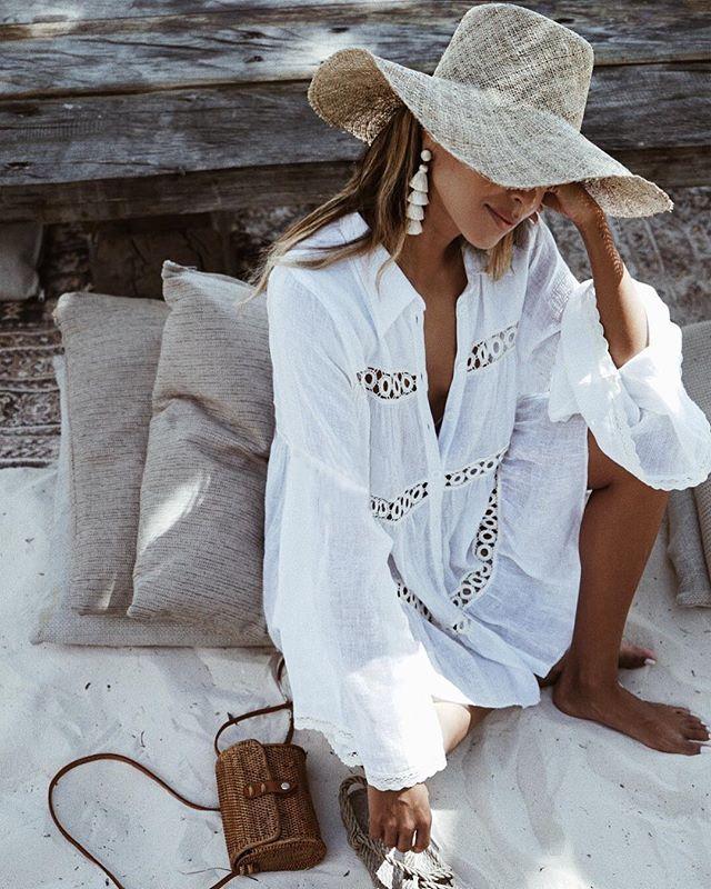 1f146059ecca1 2019 Bikini Cover Up Lace Hollow Crochet Swimsuit Beach Dress Women 2018  Summer Ladies Cover Ups Bathing Suit Beach Wear Tunic ZS328 From  Angela2979, ...