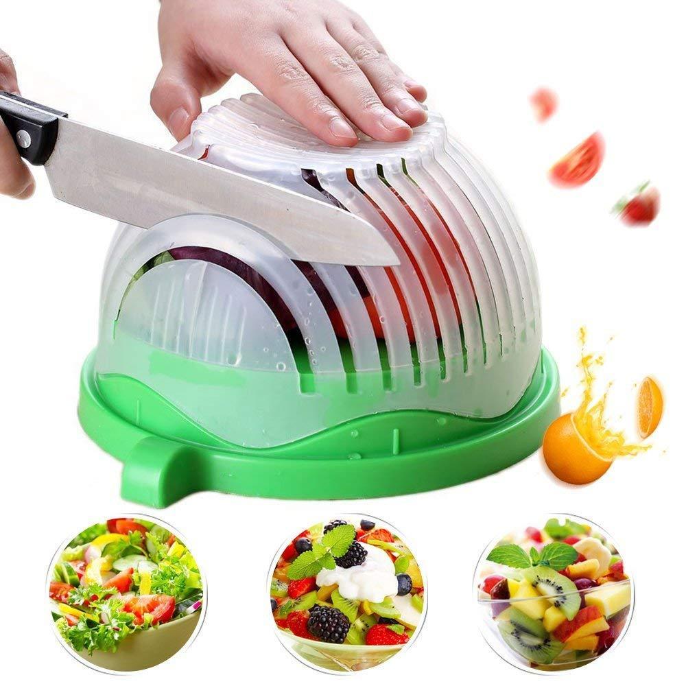 Bowl Küche | Grosshandel Salat Cutter Bowl 60 Sekunden Schnell Salat Maker