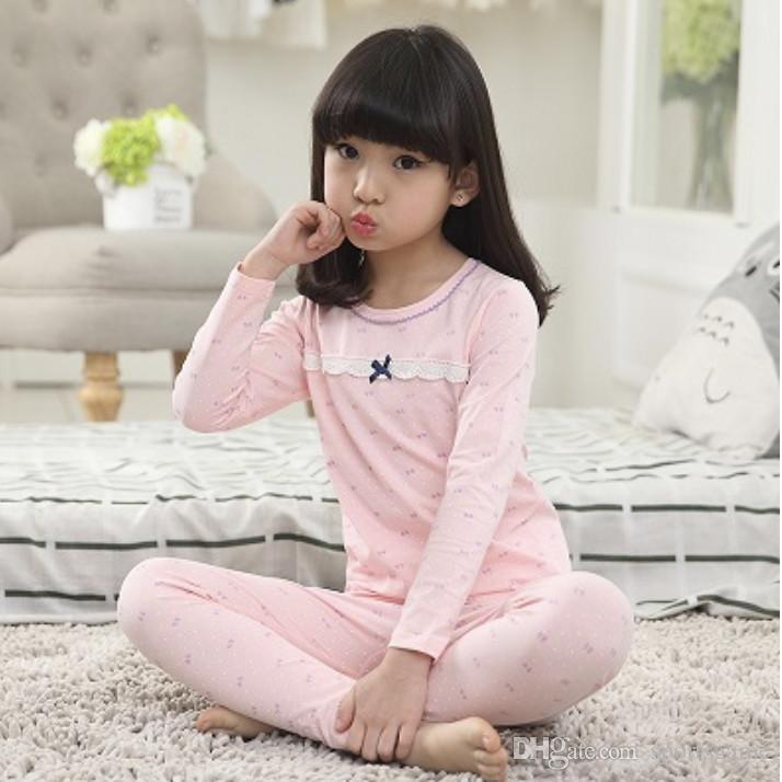 New Kids Girls Pajamas Sets Princess Pyjamas Kids Pajama Infantil Sleepwear  Home Clothing Cartoon Cotton Baby Pajama 4 14T Pajamas For Toddler Girls  Kids ... b52e2cb3f