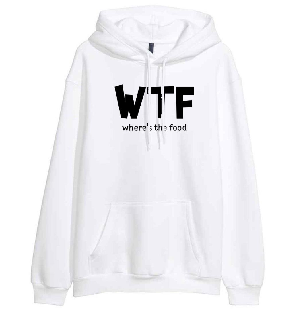 2018 New Arrival Hoody For Women Sweatshirt Print WTF WHERE'S THE Letter Fashion Women's Sweatshirts Hoodies Harajuku Kpop