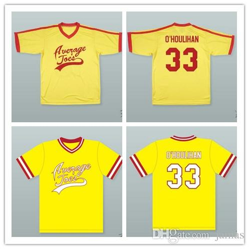 5156af1804d700 2019 Custom XS 6XL Rip Torn Patches O Houlihan 33 Average Joe S Gym  Dodgeball Jersey Stitch Sewn Any Name Or Name From Jamas