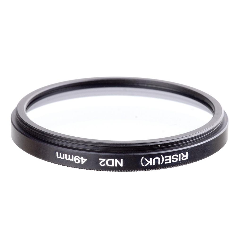 2018 Filter 49 Mm Neutral Density 2 Nd2 For All Lens Nd Slim Adjustable Fader Variable 400 To Nd400 67mm 67 Fotga Camera From Battery 888 843