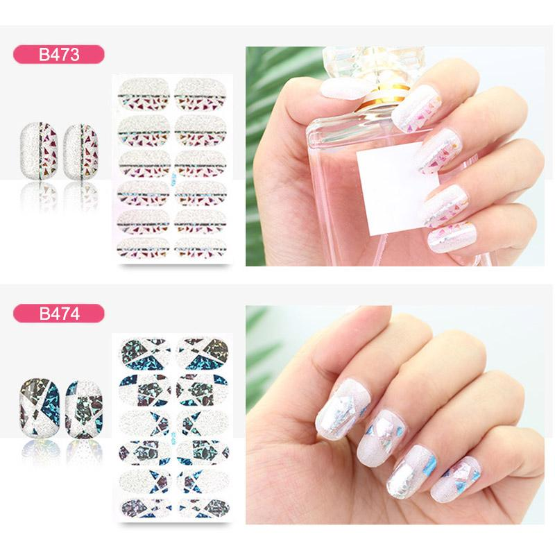 Nail Art Stickers Diy Decoration Decals Fashion Safe Non Toxic For