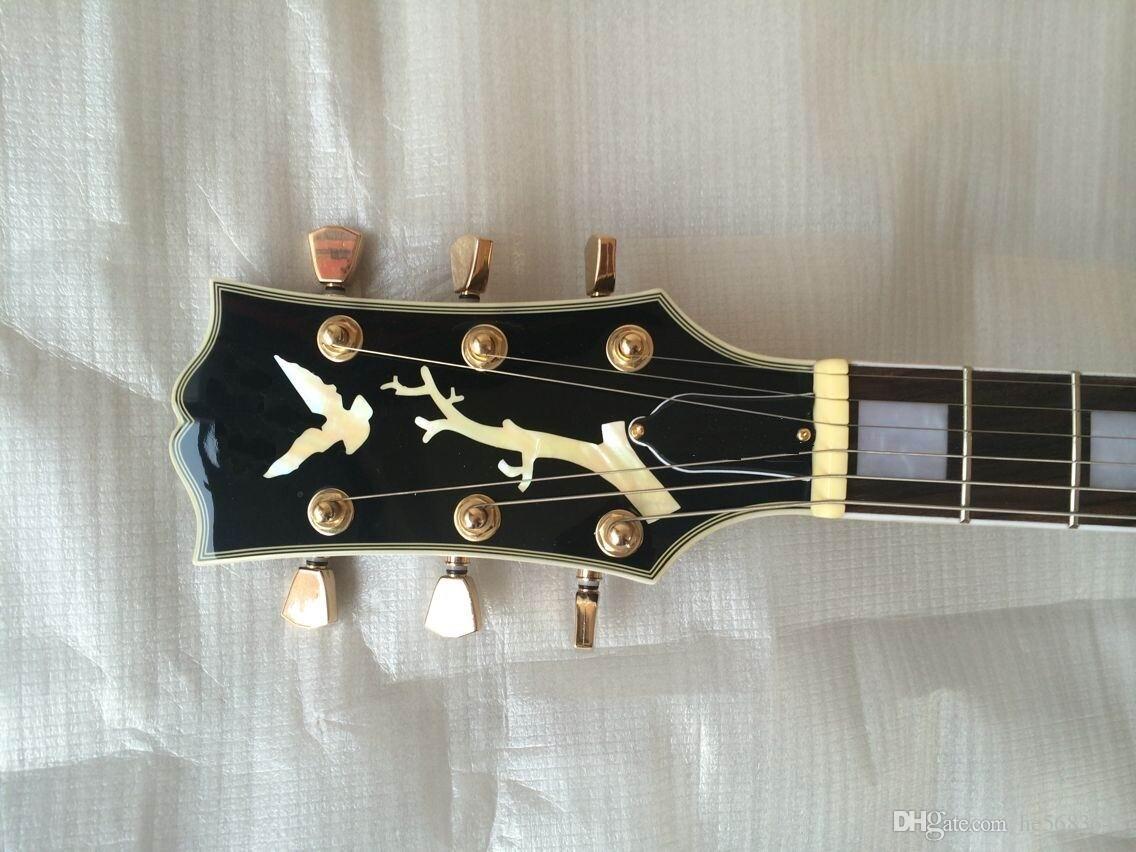 Toptan Caz Gitar ES-175 ES175 Yarı Hollow elektro gitar sunbrust ES 175 içinde. En yüksek kalite Gitar enstrüman140910