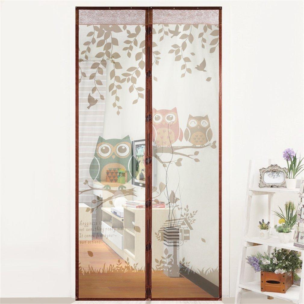 Automatische Schließen Tür Bildschirm Anti Moskito Vorhang Magnetische Tüll Vorhänge Küche Vorhänge Verschiedene Größen 100x210 Cm GüNstige VerkäUfe Heimtextilien Fliegengitter
