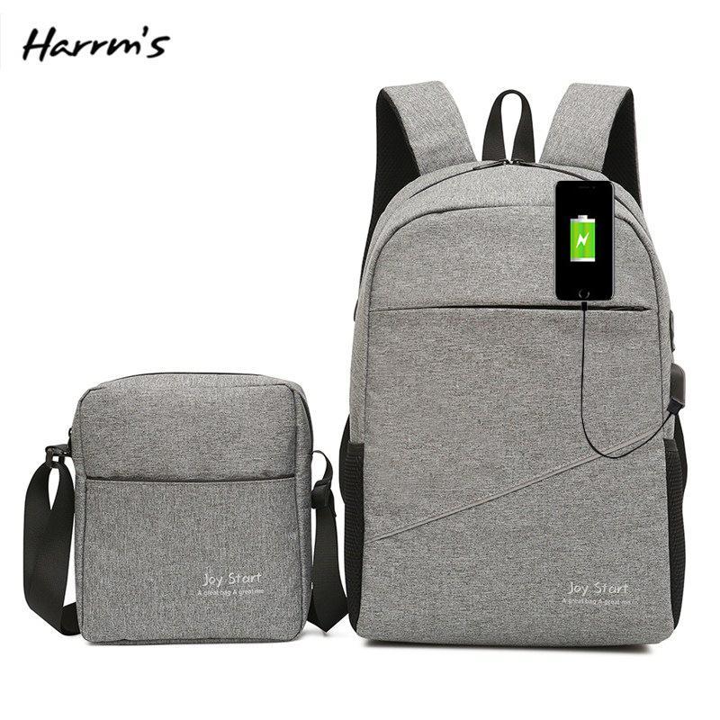 2IN1 Unisex Fashion Travel Bag TOP 15 Inch Laptop Backpack USB Charging  Anti Theft Backpack Men Waterproof School Bag Swiss Gear Backpack Osprey  Backpacks ... 4f7308e07bcf4