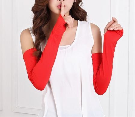 High Quality Men Women Useful Arm Warmer Cotton Long Fingerless Gloves Cuff Sun Hand Protection Anti-uv Simple Design Men's Accessories