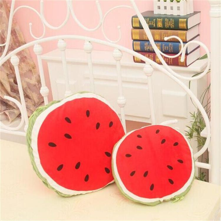 2018 Hot Sell Cartoon Multifunctional Watermelon Pillow Cushions Quilt Dual-use Lunch Break Car Cool Summer Quilts