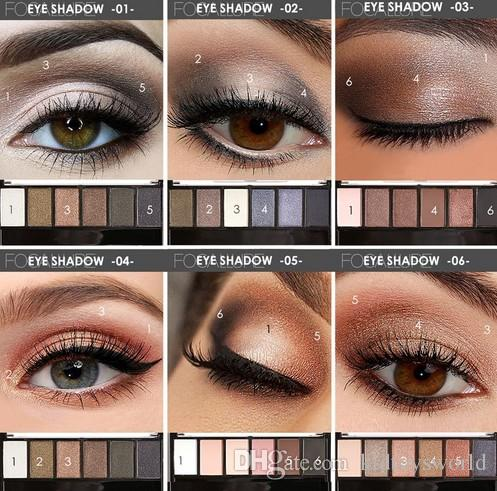 Beauty Essentials Eyeshadow Pallete Focallure Eyes Shadow Color Palette Shimmer And Matte 14 Colors Palette Eyeshadows Earth Colors Makeup