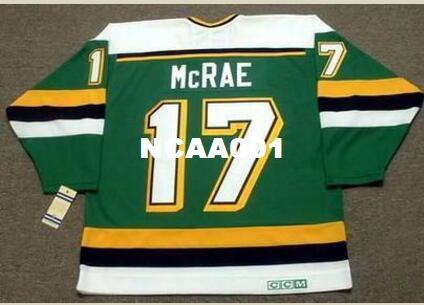 Mens  17 BASIL McRAE Minnesota North Stars CCM Vintage Home Hockey ... 6fd93d164