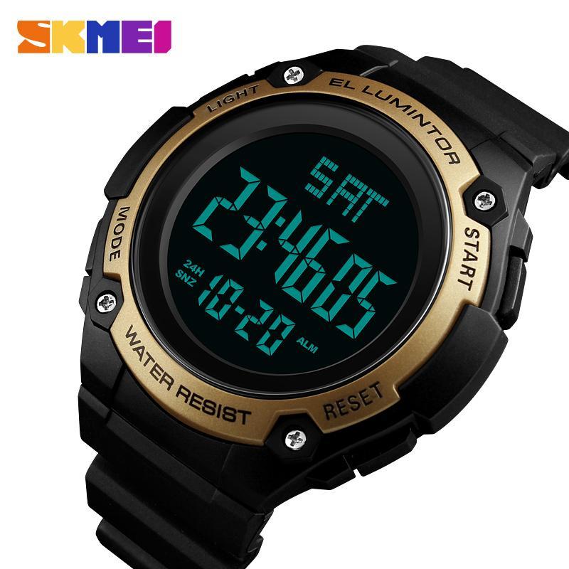 8bf0a7104f02 Compre SKMEI Cuenta Regresiva Reloj Deportivo Masculino LED Reloj Digital  Electrónico Impermeable Relojes Para Hombre De Primeras Marcas De Lujo Reloj  ...