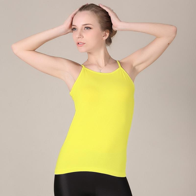 f10e8c794 2019 New Arrival Women Tops Moda Summer Camis Sexy Sleeveless Camis Top  Vest Plus Size 6XL 14 Candy Colors Casual Women S Tank From Cadly