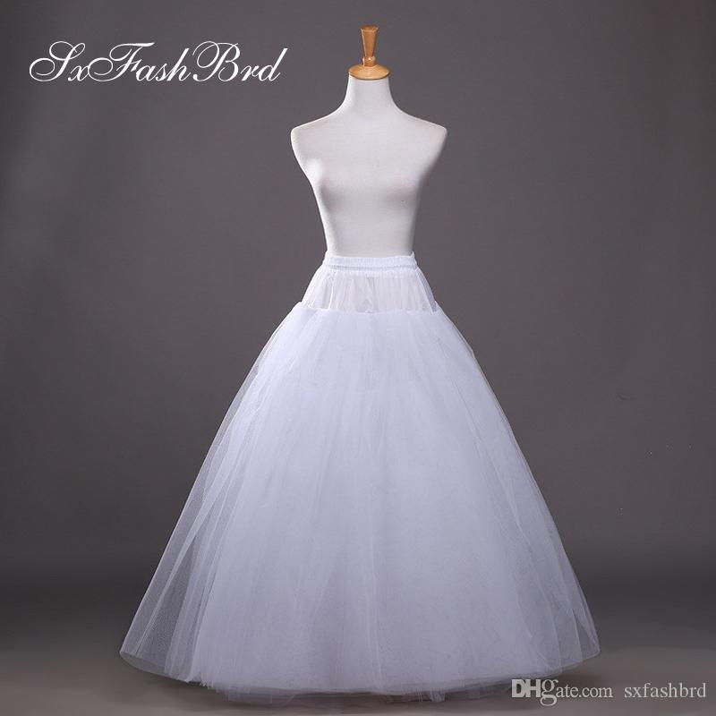 d0648e51340 New Arrived High Quality Free Size A Line Wedding Petticoats Bridal ...