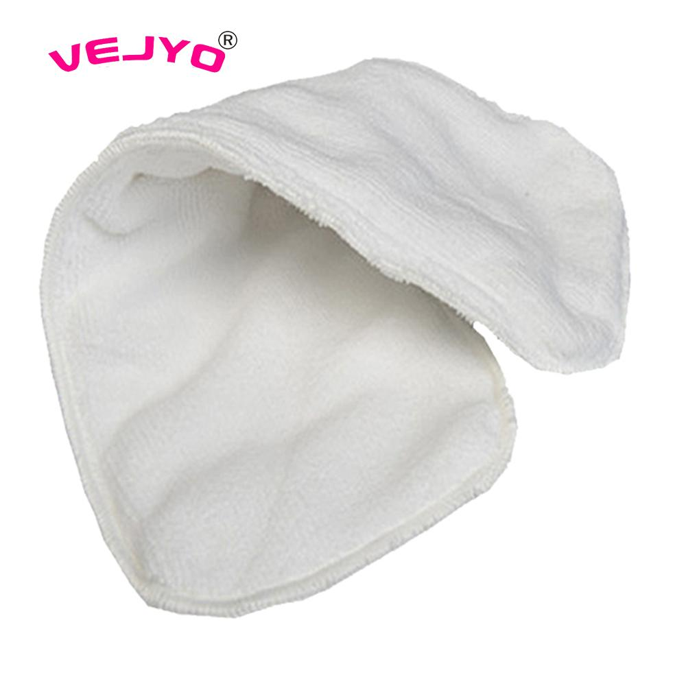 1PC Baby Washable Diaper Liner 3 layers Microfiber Inserts Newborn Cloth Diapers Napkin Nappies Reusable