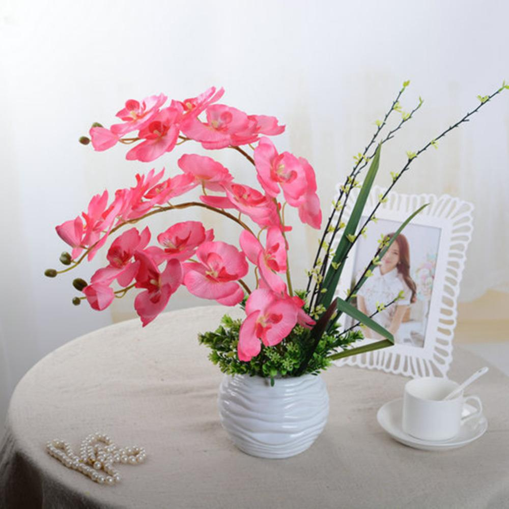 Wholesale Fashion Orchid Artificial Flowers Diy Artificial Butterfly