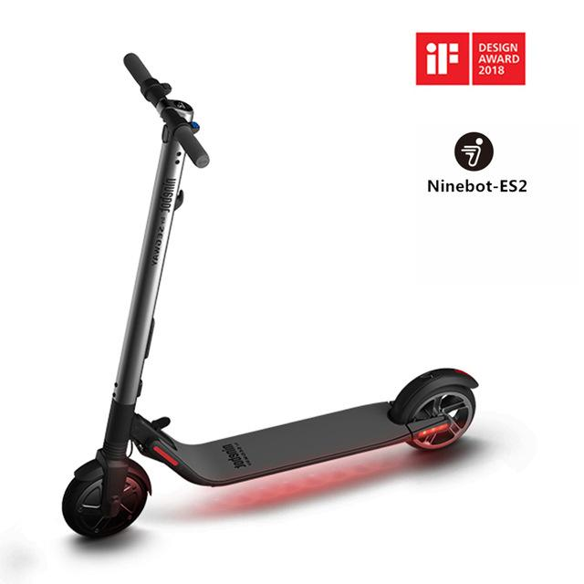 Segway Ninebot KickScooter ES2 ES4 Smart Electric Scooter foldable lightweight long board hoverboard skateboard 25km with APP hover board