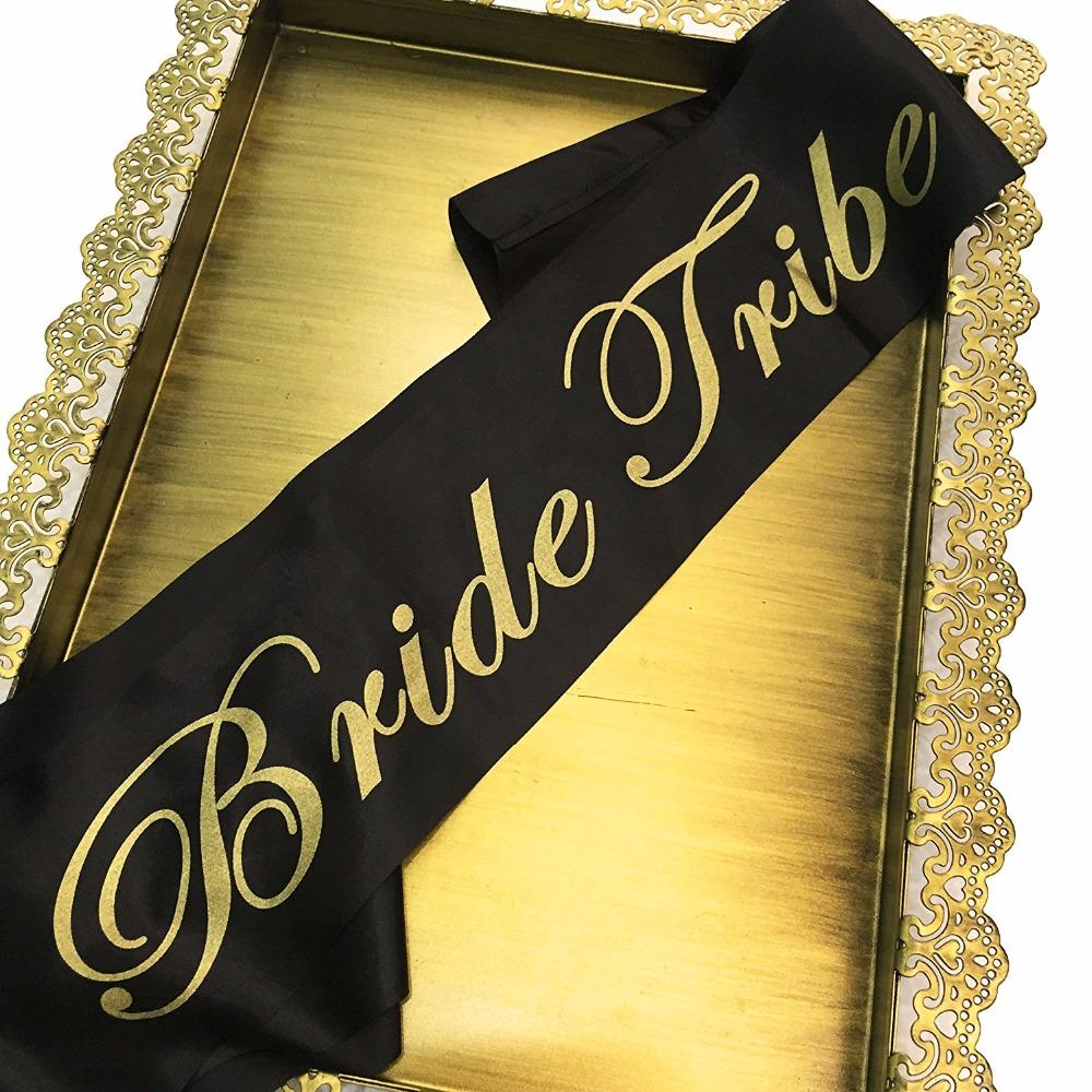 Bride Tribe Sash Bride To Be Sash Fun Bachelorette Party Favors for Bachelorette Party Bridal Shower Wedding Party Decoration