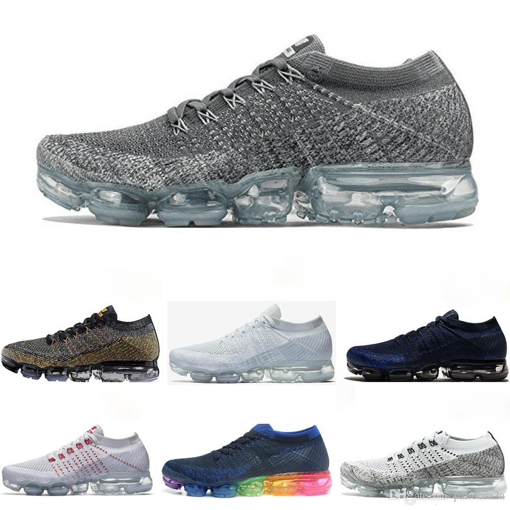 93bd9d6b1a157 Compre Nike Air Max Vapormax Airmax Nuevo 2018 2019 BE TRUE Zapatos Para  Correr Mujeres Hombres Zapatos Al Aire Libre Diseñador Fly Line Diseñador  ...