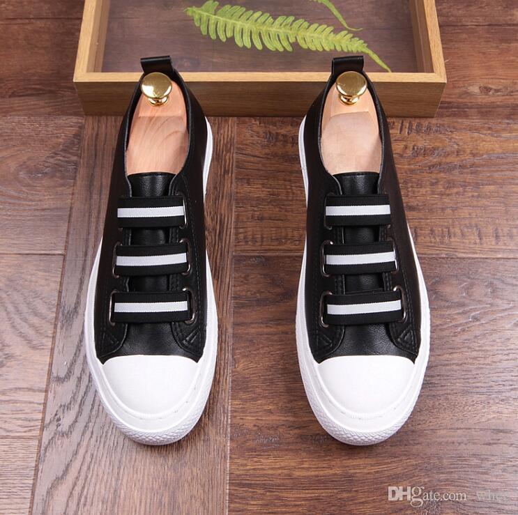 zapatos de diseñador de los hombres zapatos blancos zapatos casuales zapatos de negocios de los hombres zapatillas que fuman envío libre 232