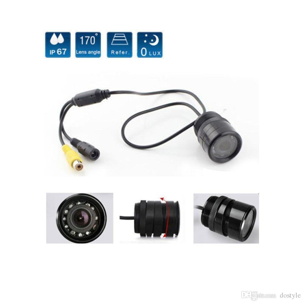Auto-Parken-Unterstützung IR Infrarot Wasserdicht nicht vorne Rückfahrkamera IR-Nachtsicht für das Parken hintere Backup-Ansicht-Kamera