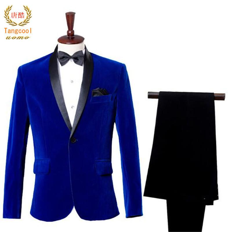 Men Casual Wear Western Style Clothes Trousers Singer Performance