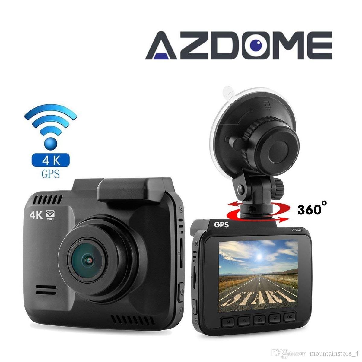 dual lens Dash Cam wifi car Cam Recorder 4k car dvr Video camera novatek 96660