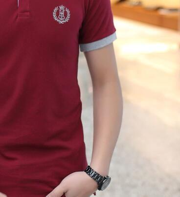 Hot Cheap 2017 Fashion Active Personalized Print Express Cotton T Shirt Hip Hop Short Sleeve T Shirts Men &8841
