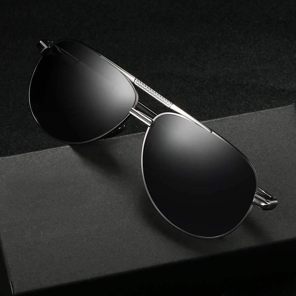 6d918f414036 Classic Polarized Sunglasses Men Driving Alloy Frame Male Sun ...