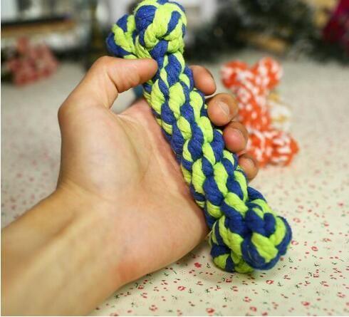 الكلب لعب جديدة يمضغ العظام الحبال الحيوانات الأليفة الكلب لعب نوع اللون العظام اللون نوع عظم الحيوانات الأليفة جرو مضغ لعبة 17 سم