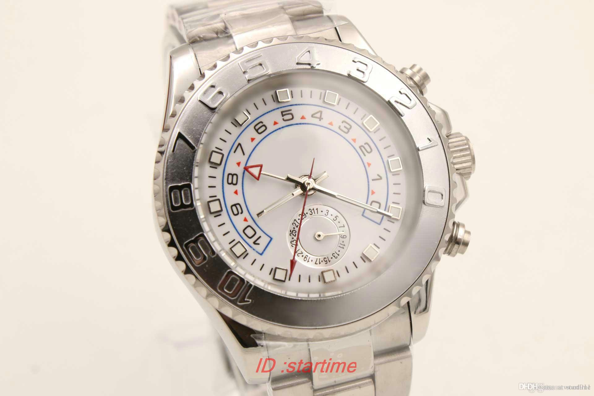 2018 Hot Luxury Brand White Dial Stainless Steel Trend Role Watch ...