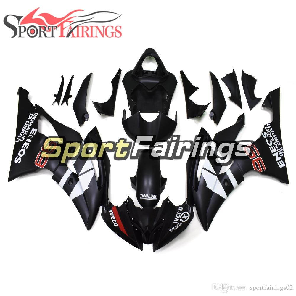 Plastic Abs Injection Fairings For Yamaha Yzf600 R6 2008 2016 Year ...