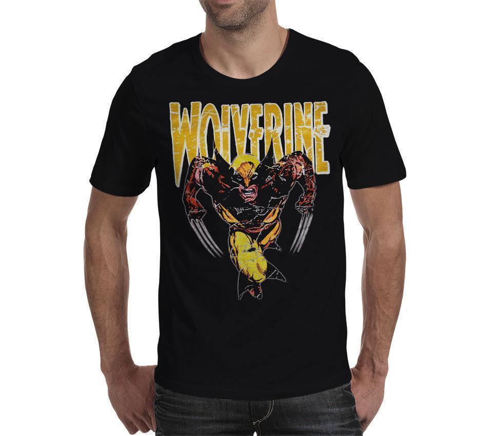 5e0b0ad69 Wolverine Logan X Men Avengers Unisex T Shirt Black Tee Top Gift Women Men  Online Shirts T Shirt Design Online From Yuxin01, $13.8| DHgate.Com