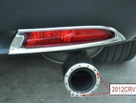 High quality stainless steel car muffler, exhaust pipe, silencer with bluing color for HONDA CR-V CRV 2012-2015