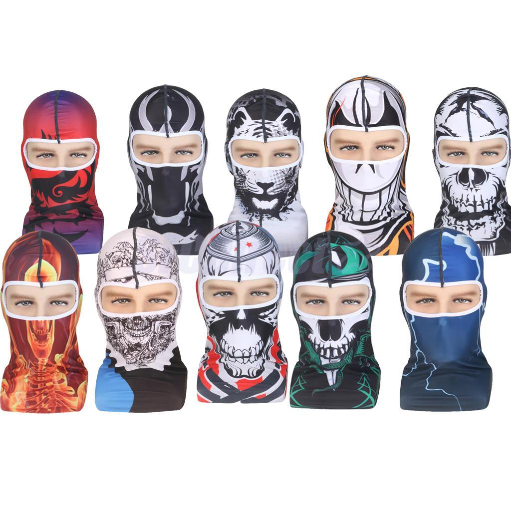 bd4a4065ea1 2019 3D Outdoor Sports Hunting Bicycle Cycling Skateboard Motorcycle Skull  Ski Riding Hat Balaclava Protect Full Face Mask From Lahong
