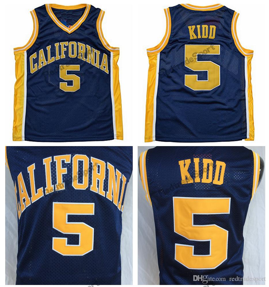 fb3254c9329 2019 Mens California Golden Bears Jason Kidd College Basketball Jerseys  Vintage  5 Jason Kidd Home Blue Stitched Basketball Shirts S XXL From  Redtradesport