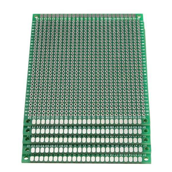 FR-4 Universal Double Side Prototype PCB Board 7cm x 9cm