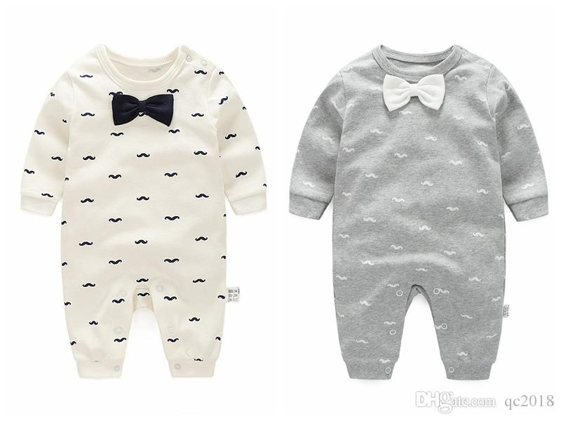 079f40be6 2018 Autumn Baby Boy Clothing Cotton Long Sleeved Jumpsuits Baby ...